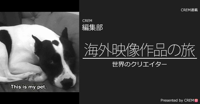 犬とわたし。愛すべき我がパートナーの記録映像。『Orson』