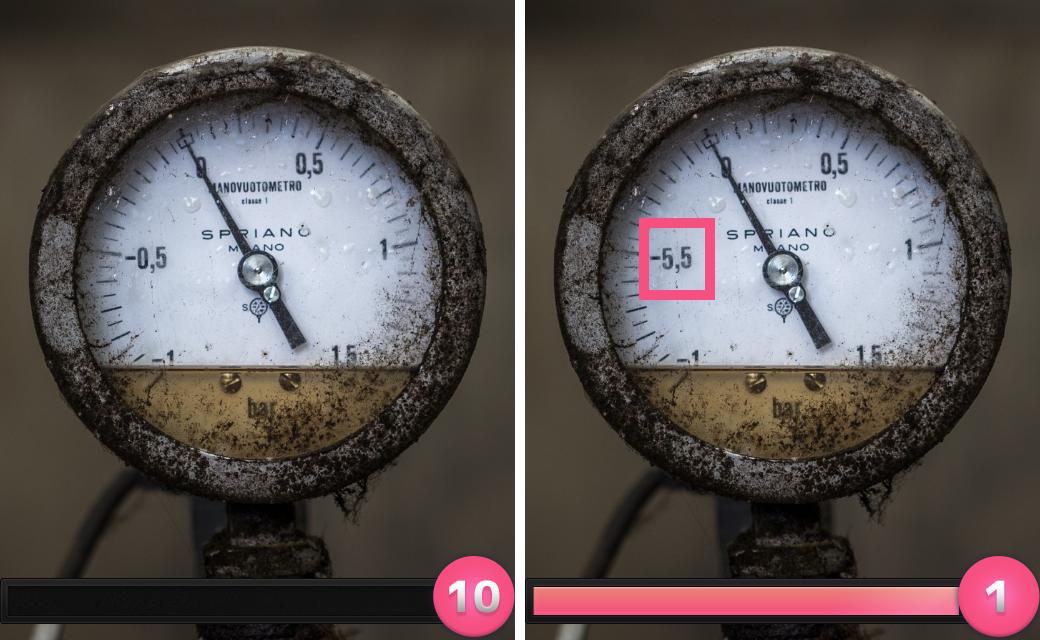 正解は「圧力計のめもりの数字が変化していた。」でした。